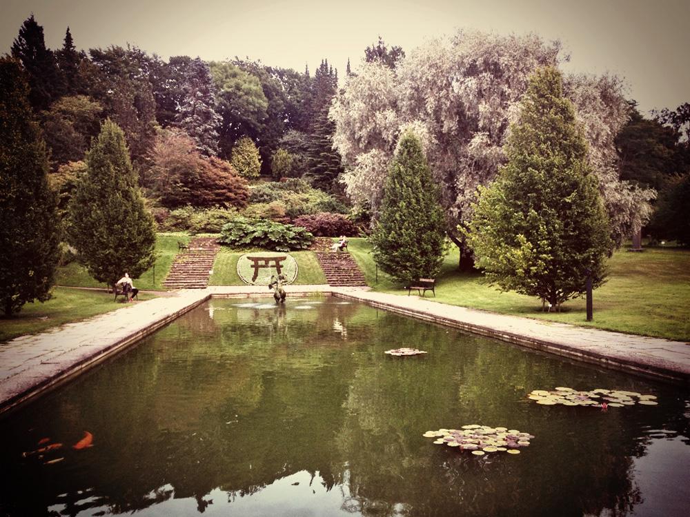 Botanical gardens in Gothenburg, Sweden