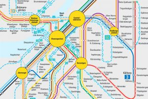 Gothenburg public transport map