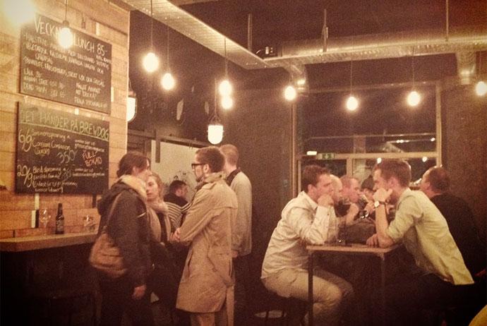 Brewdog Gothenburg is a great bar