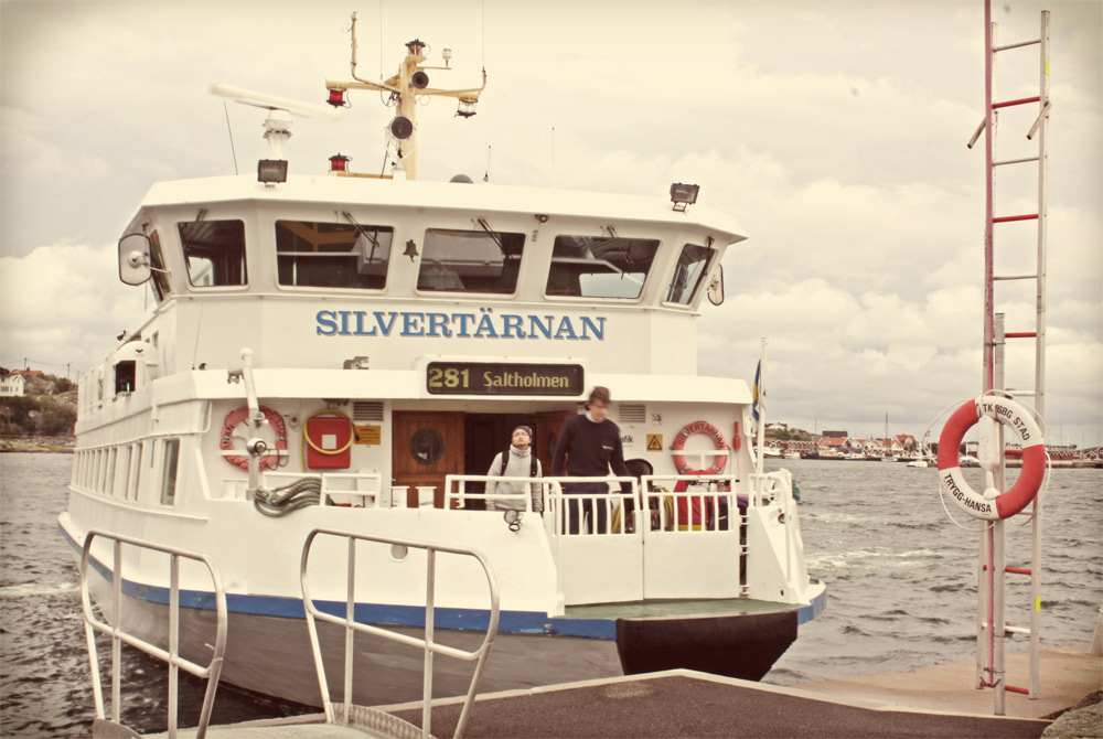 Ferries run all year in Gothenburg