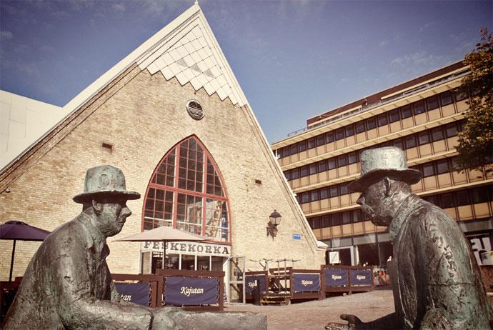 The fish church in Gothenburg