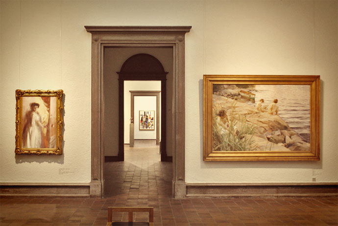 Nordic art at the Konstmuseum, Gothenburg
