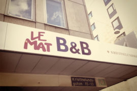 Le Mat B&B in Gothenburg