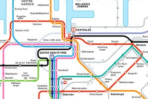 Malmö transport map – handy when getting around Malmö