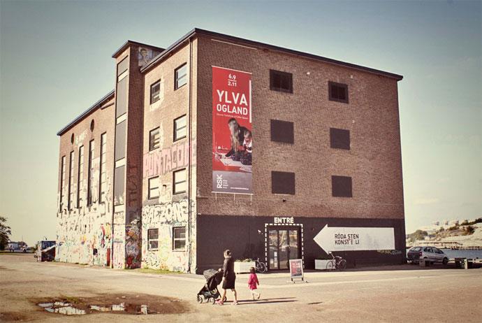 Roda Sten art gallery in Gothenburg