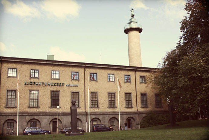 Sjöfartsmuseet, shipping museum Gothenburg