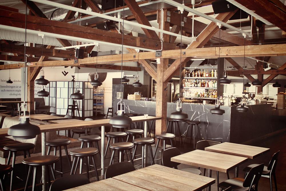 The café at the Fotografiska gallery