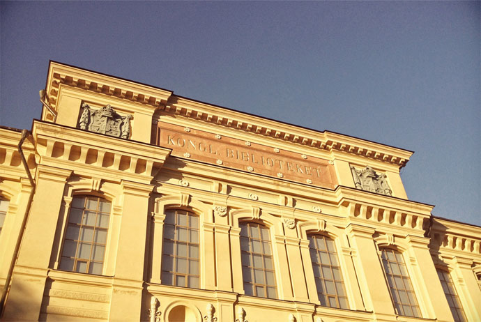 Sweden's state library is in Humlegården, Stockholm