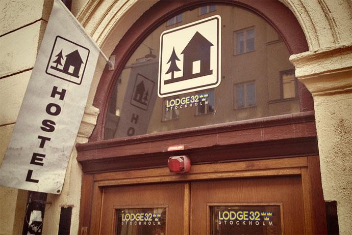 Lodge 32 hostel in Stockholm