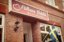 Möllans Habibi is one of the best places for falafel in Malmö