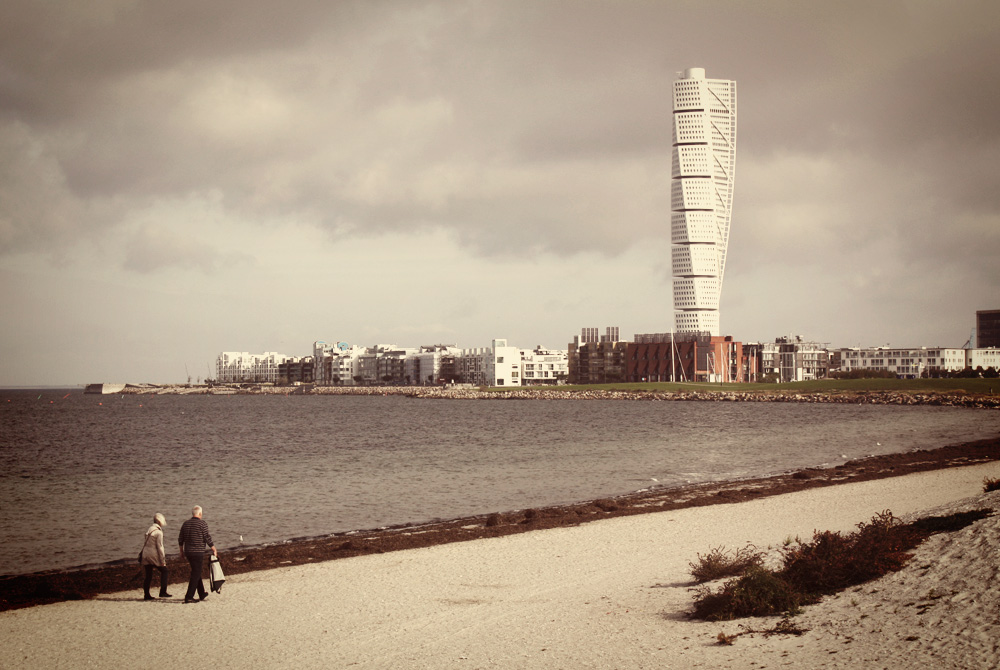 Riberborgsstranden is a beach in Malmö