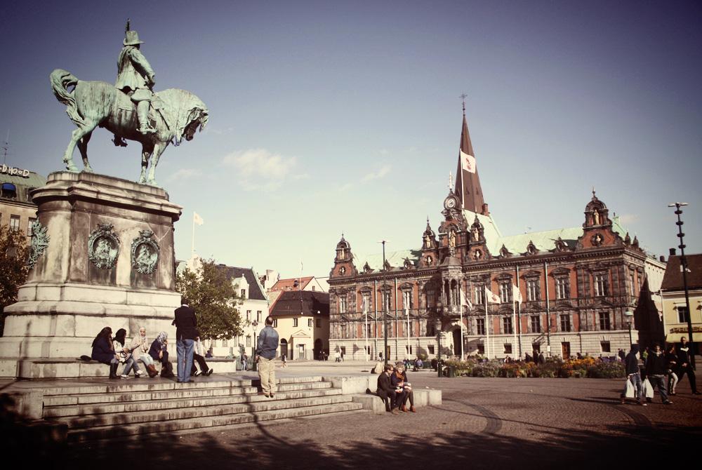 Malmö's main square, Stortorget