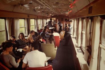 The Blue Train (blå tåget) in Sweden