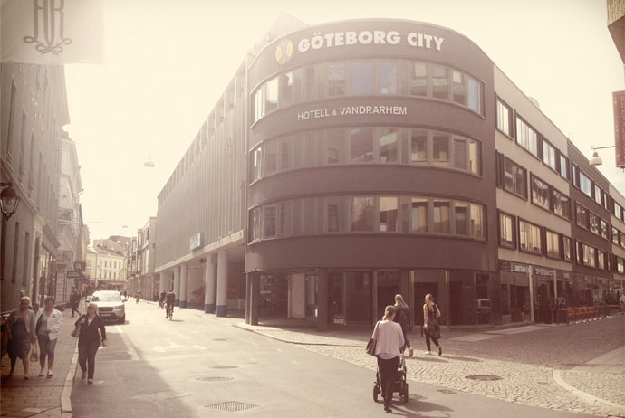 Goteborg City Hostel has hotel-like rooms