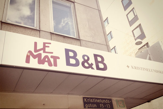 Le Mat Hostel in Gothenburg