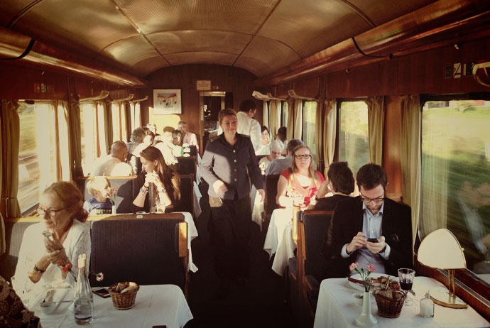 The Blue Train in Sweden