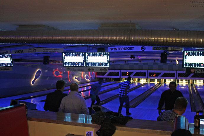 Bowling in Kiruna