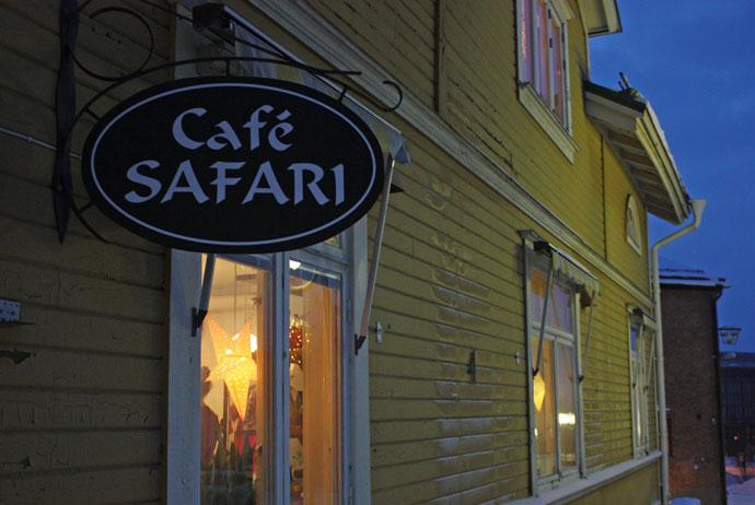 Café Safari in Kiruna
