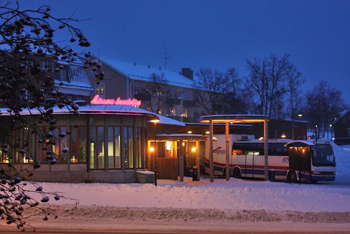 Getting to Kiruna