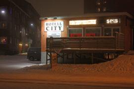 Hotell City in Kiruna, Sweden