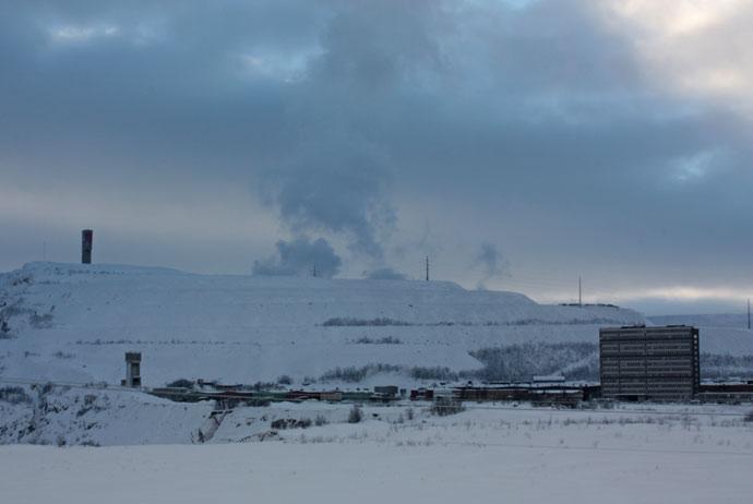 Kiruna mine tour