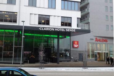 The Clarion Sense hotel in Luleå, Sweden