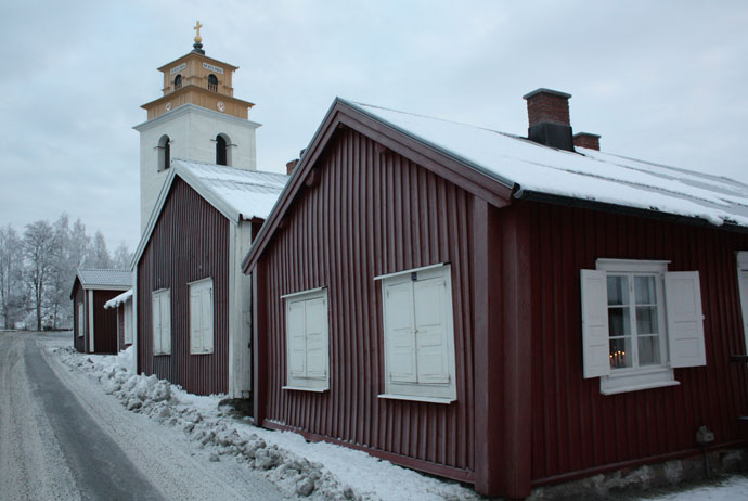 The show cottage in Luleå's church town