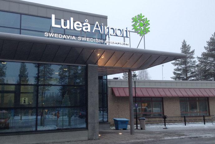 Getting to Luleā, Sweden