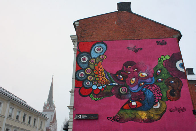 Luleå is the best place for art in Swedish Lapland