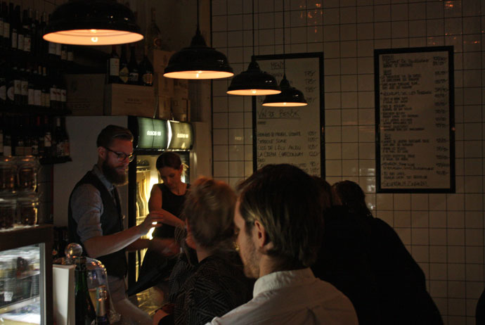 Olssons Vin is a good wine bar in Gothenburg