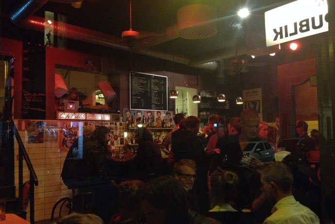 Publik is a hipster bar in Gothenburg