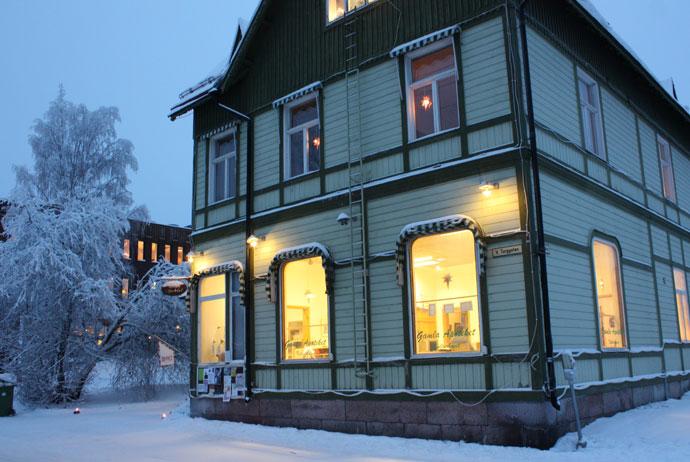 Gamla Apoteket shop in Jokkmokk