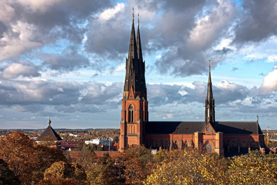 Uppsala is easy to visit on a day trip from Stockholm