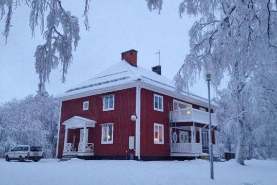 Villa Åsgård in Jokkmokk is a great little hostel