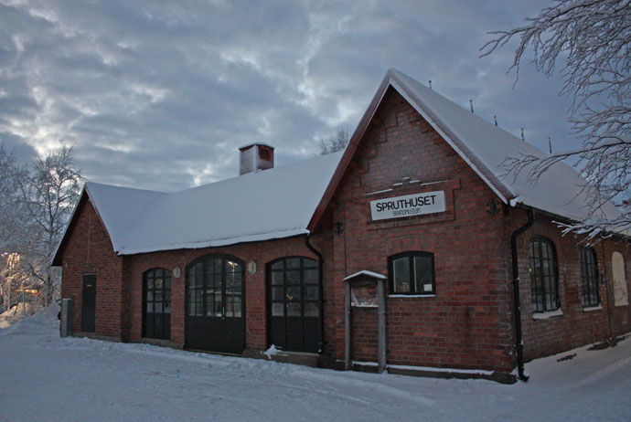 The fire museum in Gällivare, Sweden