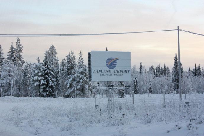 Lapland Airport in Gällivare