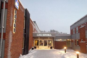 Liza Hotell in Gällivare, Sweden