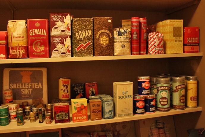 1950s shop in Nordanå, Skellefteå