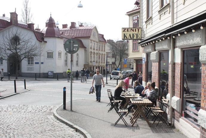 Café Zenit in Gothenburg