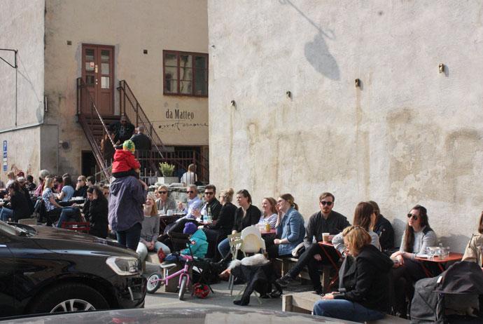 Da Matteo coffee in Gothenburg