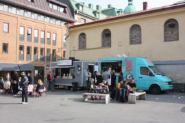 Cheap food trucks in Gothenburg