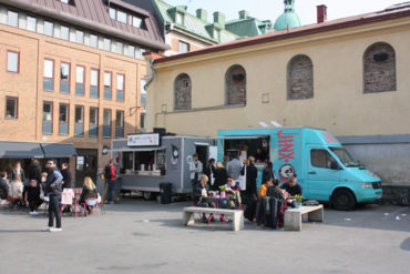 Cheap food trucks in Gothenburg
