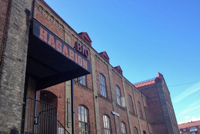 Hagabio is an independent cinema in Gothenburg