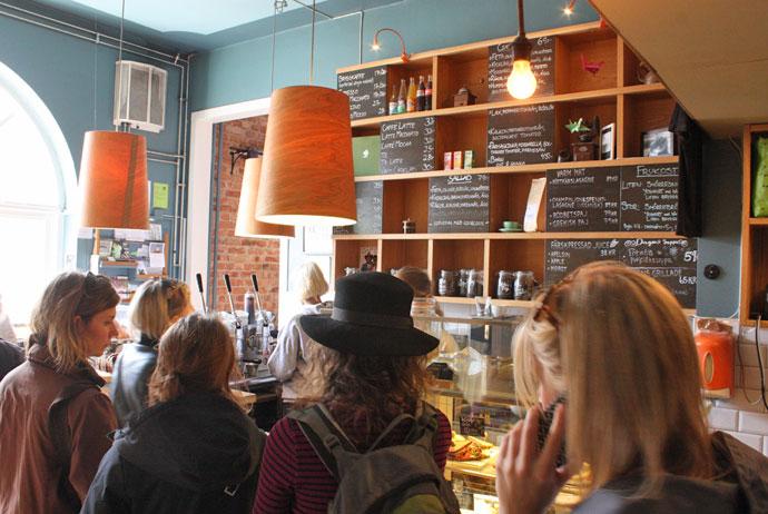 Kafé Marmelad in Gothenburg, Sweden