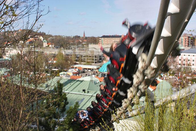 Liseberg offers an unusual challenge