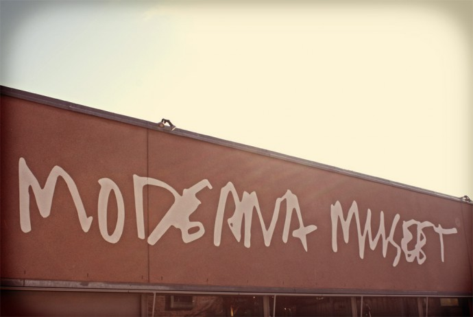Modern art museum in Stockholm