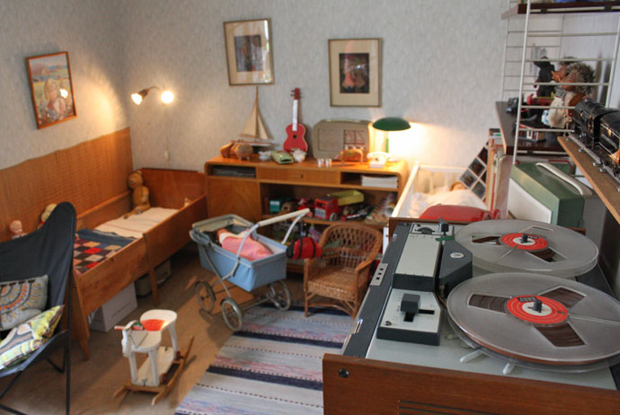 This retro apartment in Gothenburg is now a museum