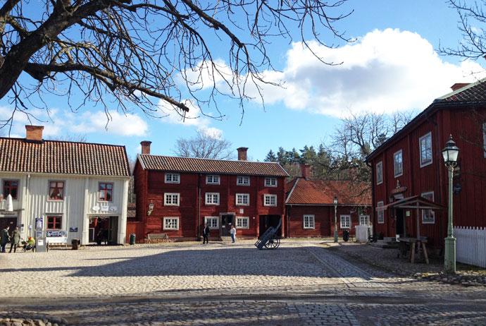 Gamla Linköping museum in Sweden