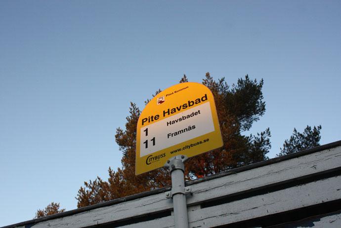 Getting to Piteå in Sweden