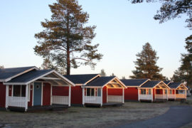 Pite Havsbad cottages